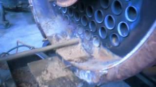 02 cambio tubos caldera  conchucos oct 2009 Lima Perú
