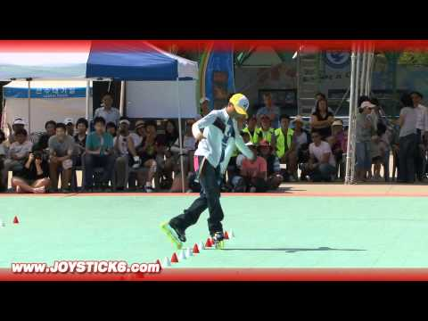 Freestyle Rollerblade Slalom style Champion - 2008 - Chen Chen - 陳晨