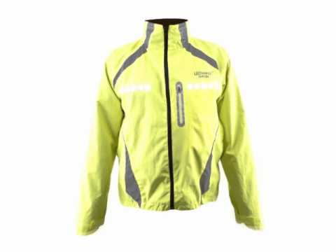 LEDwear LED JAS Aurora / LED Jacket Aurora - YouTube