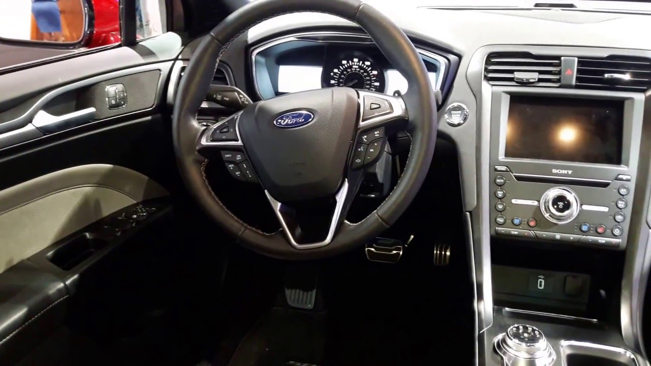2017 Ford Fusion Interior Accessories