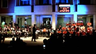 Big Band Battle - 25 or 6 to 4 - Musica in villa 2015
