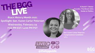 Black History Month Spotlight: State Senator Karen Carter Peterson