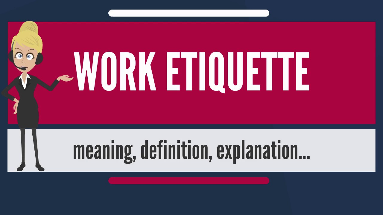 etiquette at work The etiquette should be that i don't know you farted whether it was loud or a silent killer, you shouldn't be farting in the office do that outside or in the bathroom behind the stall.