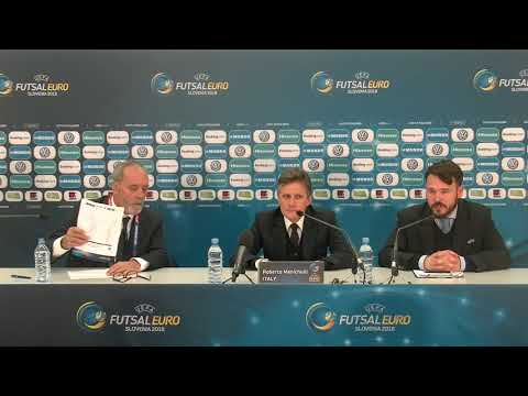 Europei 2018 - Conferenza stampa post Italia-Slovenia