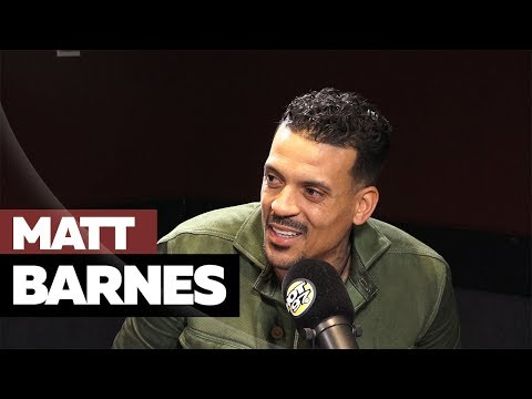 Matt Barnes Keeps It Real On Derek Fisher, Austin Rivers, & Huey Newton Movie