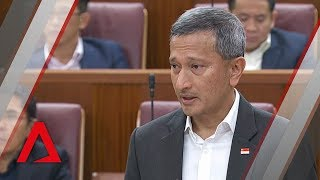 Vivian Balakrishnan on dealing with Malaysia amid airspace, maritime disputes