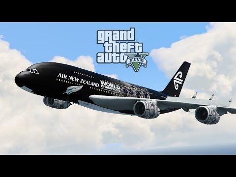 Air New Zealand AD - All Blacks Tribute  [GTA 5 PC]