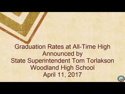 Graduation Rates at All Time High