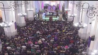 Globovisión te trae en video cómo transcurrió la misa del Nazareno de San Pablo