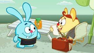 Азбука финансовой грамотности - Спокойствие | Смешарики 2D. Обучающие мультфильмы