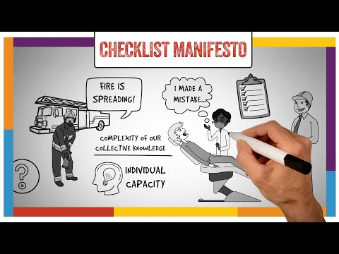 the-checklist-manifesto-by-atul-gawande---animated-summary,-review-&-implementation-guide