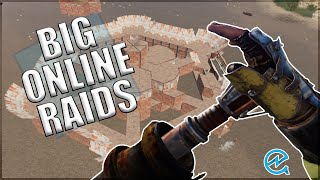 Big Online Raids - Rust