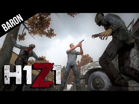 H1Z1 Gameplay - Basic Survival, Cranberry City, Food and Water Crafting!