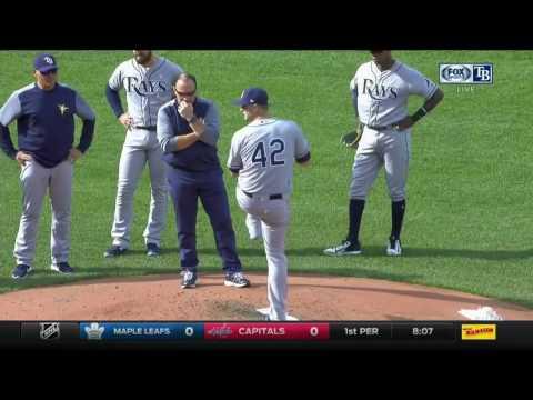 Jake Odorizzi -- Tampa Bay Rays at Boston Red Sox 04/15/2017