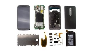 Moto X Pure/ X Style Teardown for LCD screen repair/disassembly