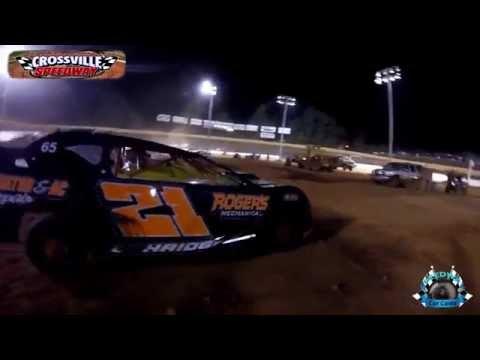 #21 Shannon Ethridge - Pony - 10-8-16 - Crossville Speedway - In-Car Camera