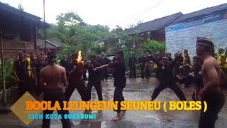 Pencak Silat Maung Bodas ,Maen Boles dan Ngagotong Lisung