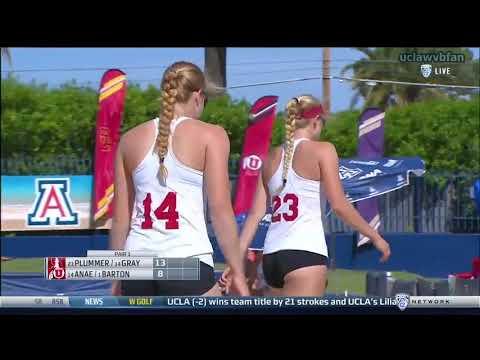 PAC12 BVB Team Championships M7 - Stanford vs Utah (April 27th 2017)