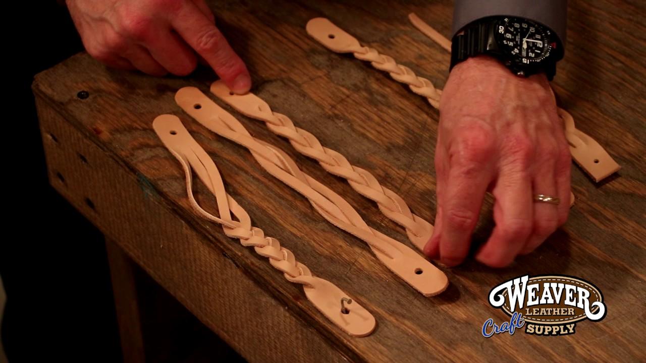 Leather Mystery Braid Cuff Youtube
