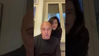 Https://www.pupia.tv - messaggio di incoraggiamento luca zingaretti e luisa ranieri ai medici napoletani che stanno curando i pazienti in queste ore. (12....