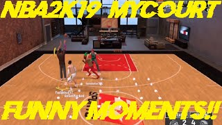 Making Money Moves! NBA2K19 My Court Funny Moments!!!! w/ AussieFIFA & Everything Wrestling!