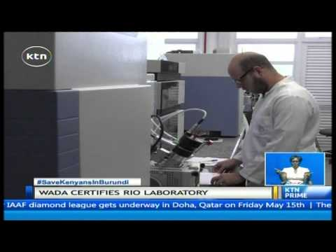 The world anti-doping agency certifies Brazil's drug-testing laboratory