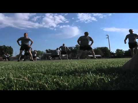 Wyoming National Guard Soldiers Take Part In Summer Fitness