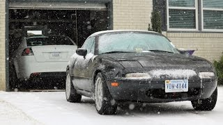 Mazda MX-5 Miata (NA) Project Build: Snow Drive, Drift, Donuts