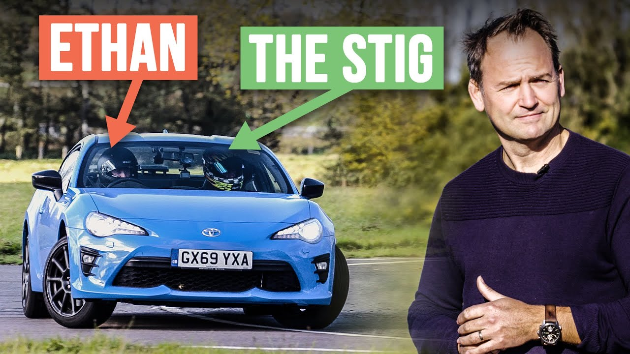 Can The Stig Teach A Non-Car Guy To Be A Stunt Driver?