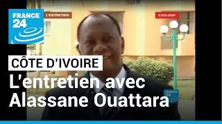 FRANCE 24 L'Entretien - Interview exclusive d'Alassane Ouattara à l'Hôtel du Golf d&#