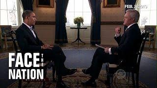 President Obama's Super Bowl interview in 2013