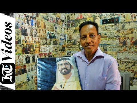 This man has 4,000 photos of Sheikh Mohammed