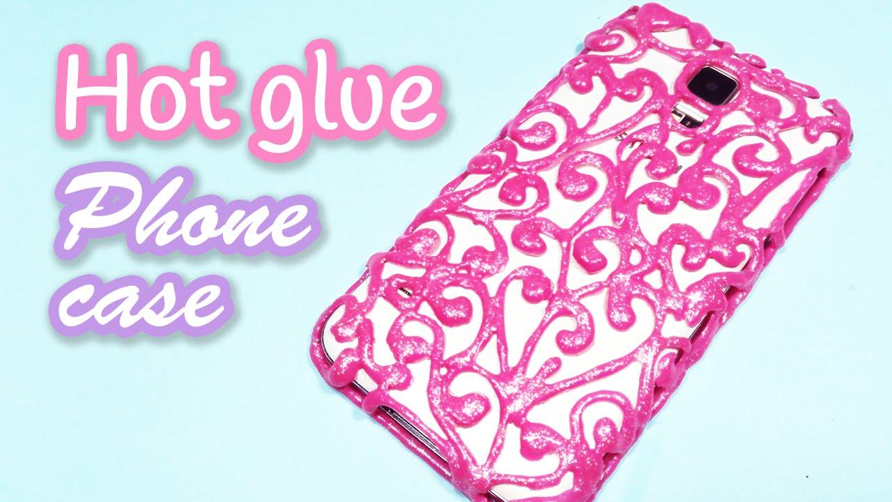 best authentic becf1 d97fd DIY crafts: HOT GLUE PHONE CASE - Innova Crafts