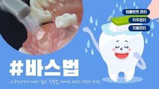 올바른 양치질 하는 방법 - 바스법! 치주염 잇몸염증 …