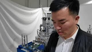 한국 전역 자동 KF94 물고기 마스크 기계 120pc…