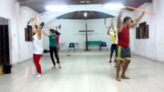 Xaxado, montando e ajustando a coreografia.