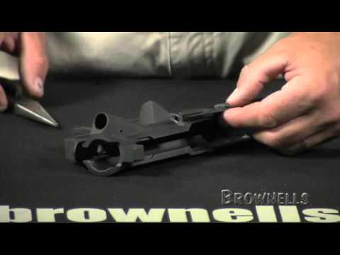 Brownells - AR15: Installing the Ejection Port Cover