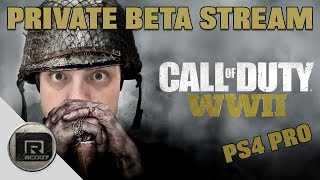 Call of Duty WW2 Beta is LIVE NOW!!!!