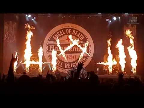SLAYER - Angel of Death - Final World Tour Munich // München November 29 2018