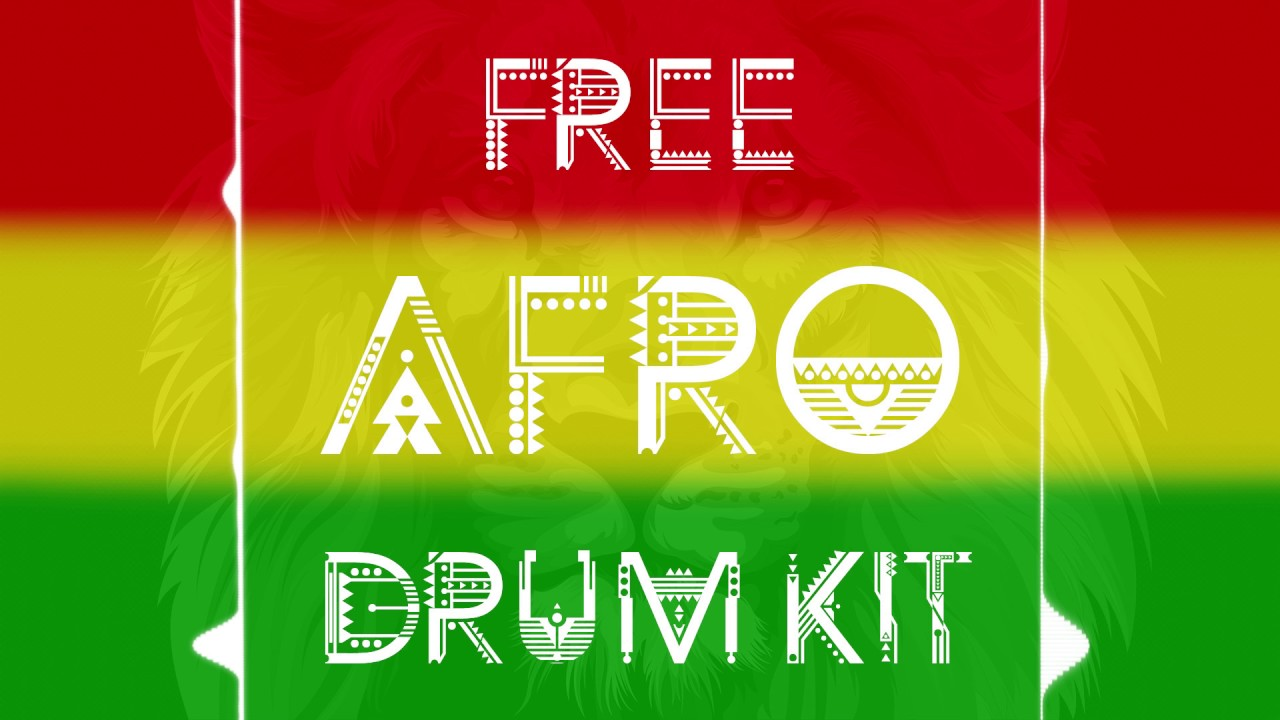 FREE AFRO DRUM KIT [Download link in description]