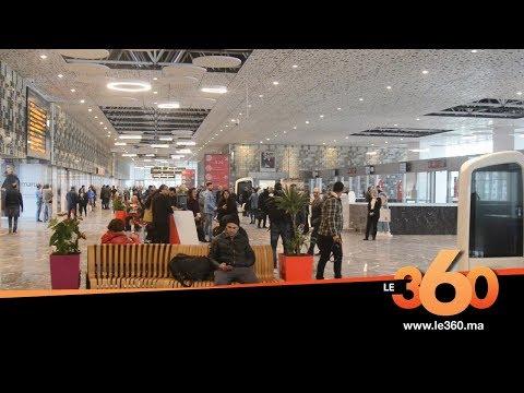 Le360.ma •Visite de la nouvelle gare de Casablanca-Voyageurs