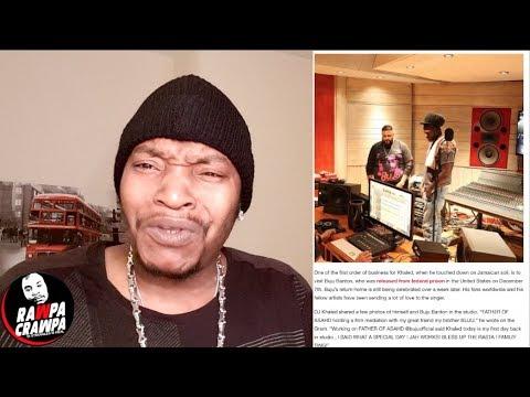 DJ Khaled In Jamaica Link Up With Buju Banton  In studio ( 17 Dec 2018 ) Rawpa Crawpa Vlog