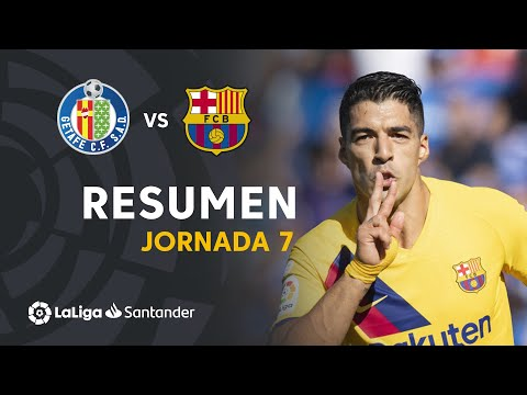 Resumen De Getafe CF Vs FC Barcelona (0-2)