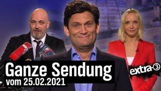 Extra 3 vom 25.02.2021 mit Christian Ehring
