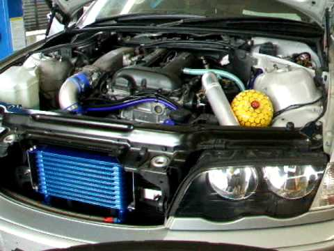 Motor exchange of BMW/E46