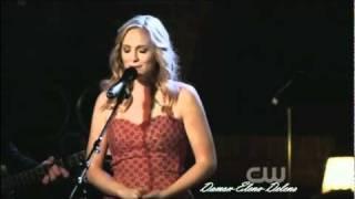 Candice Accola - The Vampire Diaries - Caroline Singing for Matt
