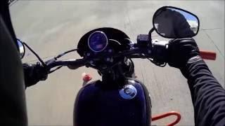 Harley Davidson Riding Academy Part 1   First Motovlog?