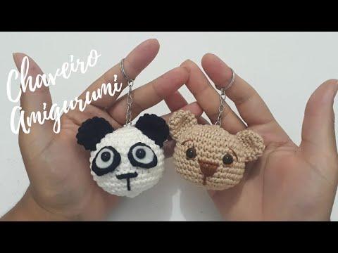 Armarinho São José: Amigurumi - Ursinho Panda! | 360x480