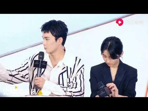 吴磊张子枫新电影宠爱发布会花絮