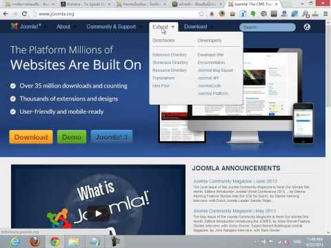 Joomla 2.5 Step by Step - การติดตั้ง PlugIn ใน Joomla 2.5